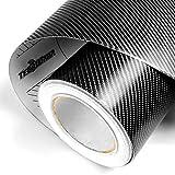 17,50m² 4D Carbon Folie 30 cm x 152 cm Interieur Leisten Veredelung Auto Folie