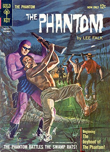 Gold Key Comics-5--Phantom (Gem): The Swamp Rats. (1963) (The Phantom) (English Edition)