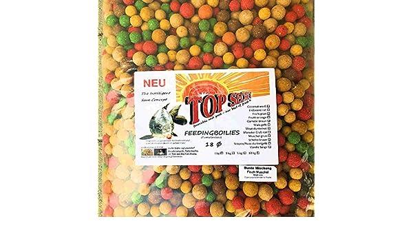Top Secret Futterboilie 10Kg 16-20mm Herbstaktion Boilies 3 Sorten Sonderpreis