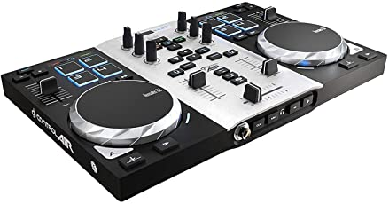 Hercules DJ Air S Series 4780871 Controller (Black and Silver)