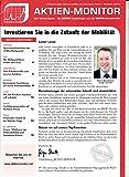 Aktien Monitor 11 2017 Investieren Sie in die Zukunft der Mobilität Elektromobilität Zeitschrift Magazin Einzelheft Heft Börsenbrief