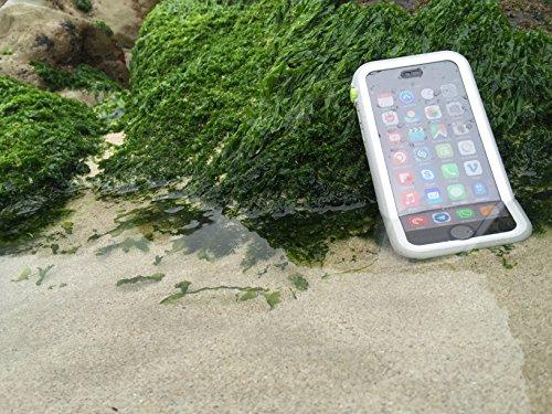 CATALYST CATIPHO6SRES Unterwassergehäuse mit Bogen für Apple iPhone 6/6S rot White & Mist Grey