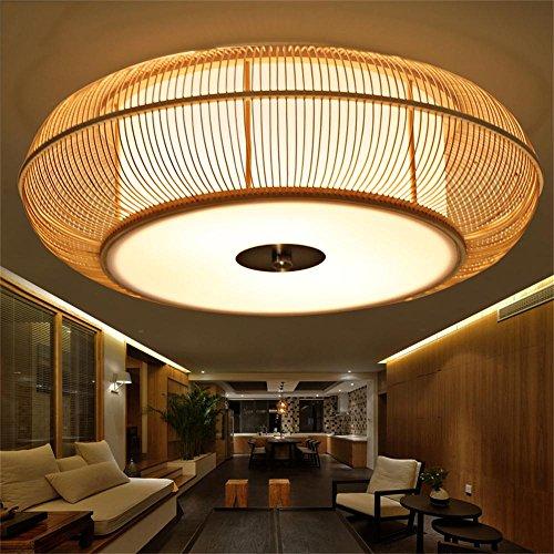 Kreative Japanisch Koreanisch Tatami Bambus Lampe Beleuchtung ... Schlafzimmer Lampen Decke