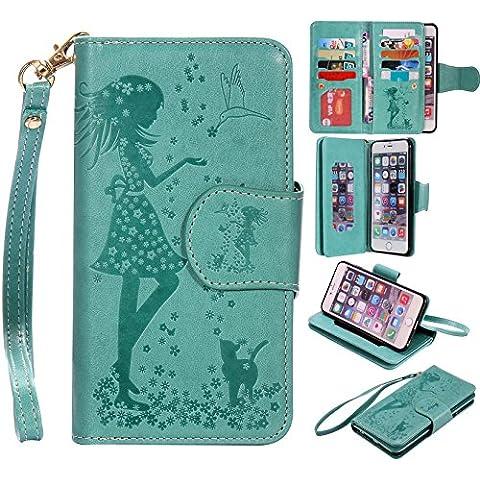 Leather Case Cover Custodia per Apple iPhone