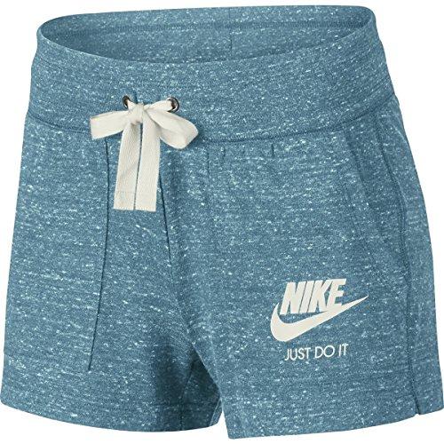Nike Gym Vintage Women Shorts 883733 carulena/sail