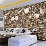 Tapete Experten 3DTV Hintergrund Mauer paper3dthe Stereo-Dekoration Wohnzimmer Wand Bild Tapete Schlafzimmer Seamless-Tuch,