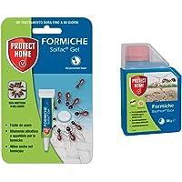 PROTECT HOME Solfac Tubetto Gel Formiche: esca insetticida attrattiva liquida pronta all'uso, 4 gr & 435826 Baythion…