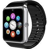 Smartwatch,Willful Smart Watch Sport Uhr Smart Uhr Fitness Tracker mit Schrittzähler Schlafanalyse 1.54 Zoll Touchscreen,Kamera,SMS Facebook Vibration Kompatible Android Handy für Herren Damen