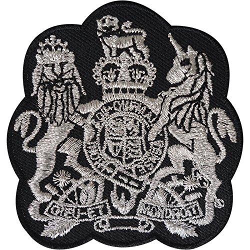 Dress Prince Royal Kostüm Fancy - Wappen Patch Bestickt Abzeichen Royal Crest King Fancy Kleid Eisen nähen auf