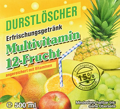 Guaven-vitamin C (WeserGold Multi-Vitamin, 12er Pack (12 x 500 ml))