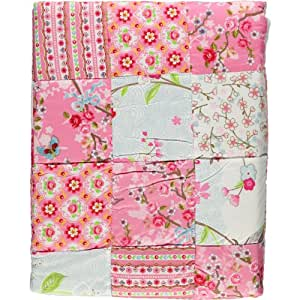 pip tagesdecke quilt chinese blossom patch pink 220x265 cm. Black Bedroom Furniture Sets. Home Design Ideas