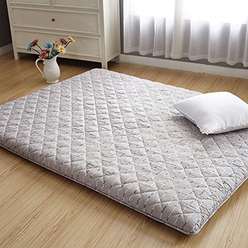 hxxxy Dick Tatami tatamimatte,Zusammenklappbare Futon matratze Futon fur Das futonbett Notbett als Pflege Spine Leicht zu carry33-B 150x200cm(59x79inch)