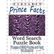 Circle It, Prince Facts, Word Search, Puzzle Book