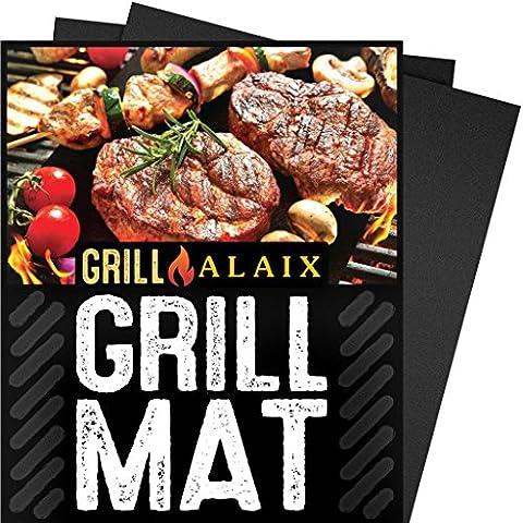 ALAIX Tapis de Cuisson-100% Anti-adhérent, facile à laver, réutilisable, parfait pour la cuisson et pour le Barbecue- Set Of 3