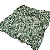 QIANGDA Camouflage Netz Tarnnetz, Armee-Maschennetze Leicht Langlebig Für Sonnenschutzdekoration Jagd Blindschießen Camping (Size : 8x8m)