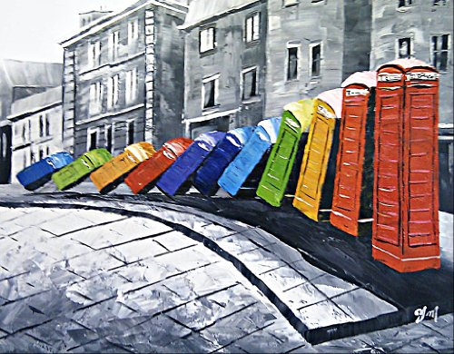 oil-painting-on-canvas-old-london-colour-domino-telephone-boxes-superb-quality-and-craftsmanship-han