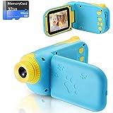 Cámara Digital para Niños Juguete para Niños Regalos Cámara de Vídeo A Prueba de Choques Pantalla HD de 2.4 Pulgadas 1080P Re