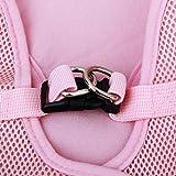 Sharplace Hundegeschirr weich Brustgeschirr einfach sicher Kontrolle bequem für Hunde Haustier, Farben und Größen Wählbar - Rosa, XL