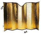 Bottari 22163 AluminiumSonnenschutz für Front und Heckscheiben Prote x Premium, Beidseitg Benutzbar mit Saugnapf, 1 Teil , 60 x 130 cm