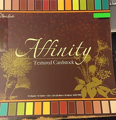 Affinity Affinity Affinity strutturato solido cartoncino biadesivo 30,5 x 30,5 cm, 75 fogli | Reputazione a lungo termine  | Ordine economico  | Benvenuto  a4d922