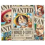 One Piece - Mausmatte Mauspad - Wanted Pirates - 23 x 19 cm