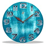Archies Round Wooden Wall Clock (31 cms ...