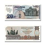 20 Mark DDR Geldschein, Sonderdruck von 1989, TOP Reproduktion20 Mark DDR Geldschein, Sonderdruck von 1989, Top Reproduktion