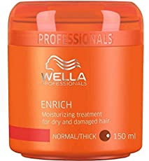 Wella Professional Enrich Moisturizing Treatment for Dry and Damaged Hair, 150 ml