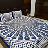 #8: Suraaj Fashion Jaipuri and Rajasthani Tradition 144 TC Cotton Double Bedsheet with 2 Pillow Covers
