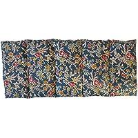 """Cuscino termico """"RUSTIC"""" - 50 x 20 cm (XL) - pieno di noccioli di ciliegia 800gr - effetto freddo/caldo . saco termiche"""