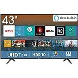 "Hisense H43BE7000 Smart TV LED Ultra HD 4K 43"", HDR, Dolby DTS, Slim Design, Tuner DVB-T2/S2 HEVC Main10, VIDAA U3.0 AI…"