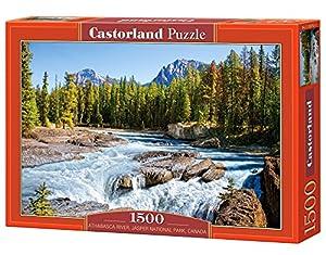 Castorland Athabasca River, Jasper National Park, Canada 1500 pcs 1500pieza(s) - Rompecabezas (Jasper National Park, Canada 1500 pcs, Jigsaw puzzle, Paisaje, Niños y adultos, Niño/niña, 9 año(s), Interior)