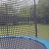 Teamyy 305cm Outdoor Garten Trampolin mit Sicherheitsnetz Ladder Jumper Gymnastic Spaß Übung Rückprall - 4