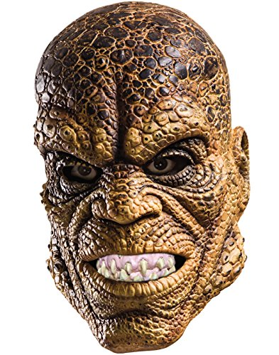 Croc Costume Mask Adult One Size (Killer Croc Maske)
