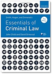 Smith, Hogan, & Ormerod\'s Essentials of Criminal Law