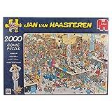 Jumbo 17467 - Jan van Haasteren - Massen an den Kassen - 2000 Teile