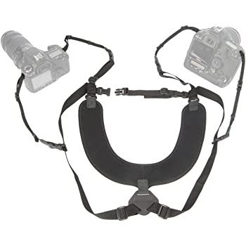 OP/TECH Double Sling Neoprene Harness Carries 2 Cameras: Amazon.co
