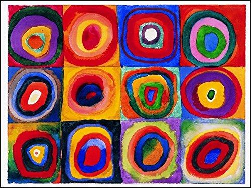 'L' affiche Illustree Kandinsky