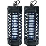 Power-Preise24 Lichtfalle 1000 Volt 1 x 11 Watt für 90 m² 2er-Set elektrischer Insektenvernichter Insektenfalle mit UV-Licht zuverlässige Insektenabwehr Mückenfalle