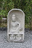 Guan Yin Buddha Statue aus Naturstein, frostfest