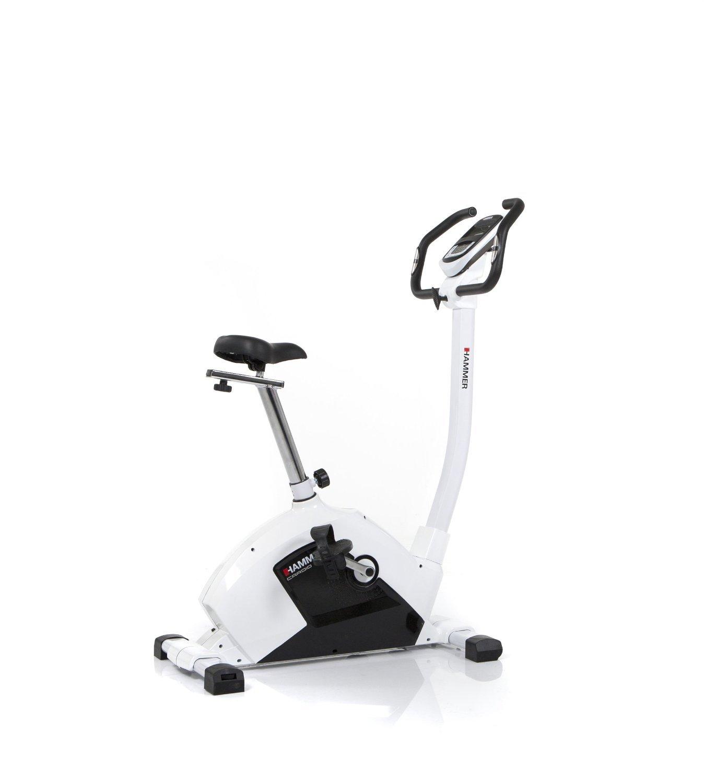 Hammer Cardio XT5 Programmable Exercise Bike - Black/White