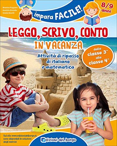 Leggo, scrivo, conto in vacanza (8-9 anni)