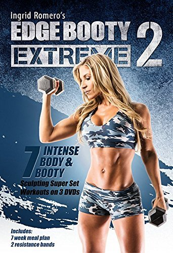 Edge Booty Extreme Volume 2 DVD Set & Bands - Ingrid Romero -