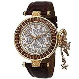 Disney Radiance Diamant Tinker Bell Damen-Armbanduhr Kristall Accent dsc004