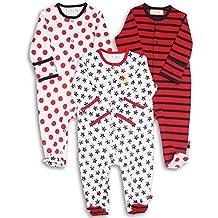 The Essential One - Pijama para bebé - Paquete de 3 - ESS36