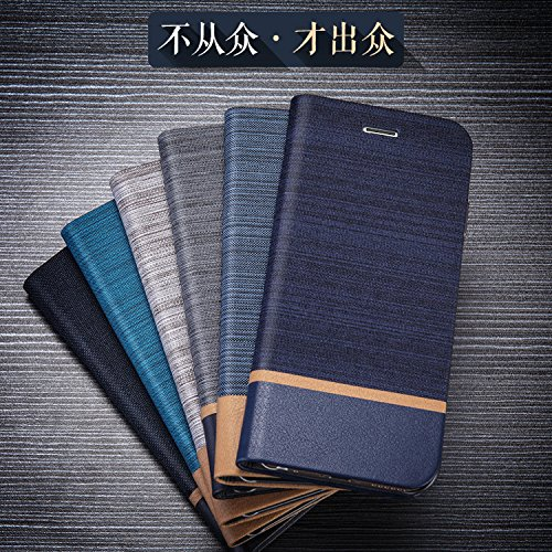 Badhiyadeal Customised Design Flip Stand View Flip Cover Case for LeEco Letv Le 2S / Le 2 (Eco) - Navy Blue Color