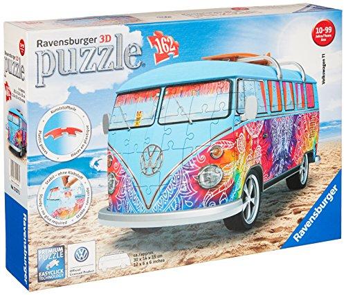 Volkswagen-T1-3D-Puzzle Ravensburger Volkswagen T1 – 3D Puzzle -