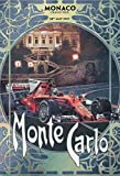 Monte Carlo Monaco grand prix grosser preis 2017 schild aus blech, metal sign, tin sign