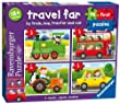 Ravensburger 7303 My First Puzzle Travel Far Jigsaw Puzzles - 2, 3, 4 and 5 Pieces