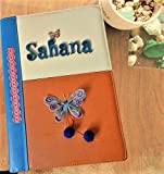 Fantastic Folder for multipurpose like Certificates \ Documents\ Memories with name engrave on cover page(Excellent personalized organizer gift) Rakhi gift